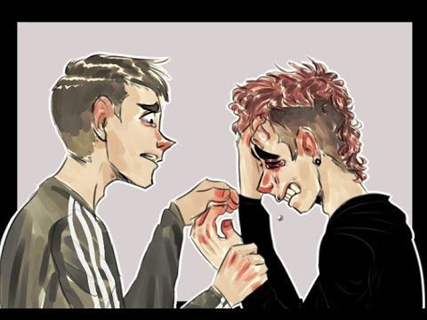 Friend, please - Twenty One Pilots [Animatic] // OH my gosh this is so good BUT NOW IM FRICKING CRYING MY EYES OUT NOOOOOOO JJJOOOOOOSSSSHHHH WHHHYYYY PLEASE NO and it's relatable to me which makes it even worse NOOO )':