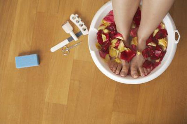 The idea of a pedicure is to beautify and care for feet. It is a process that incorporates soaking the feet, exfoliating dead skin, then trimming and painting toe nails. Pedicures help prevent nail diseases and disorders. You can perform pedicures at home or visit a professional. Pedicure recipes Basic home pedicure recipes don't usually …