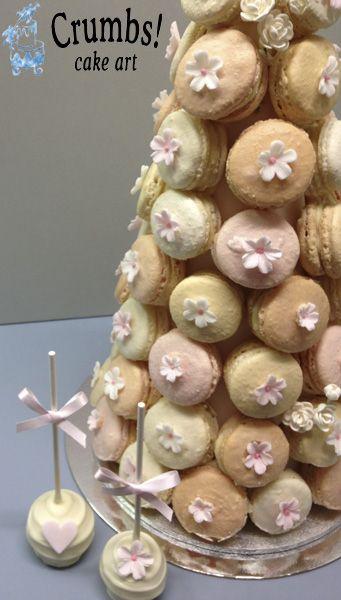 Crumbs Cake Art Facebook : 17 Best images about Macaron Wedding Cones on Pinterest ...