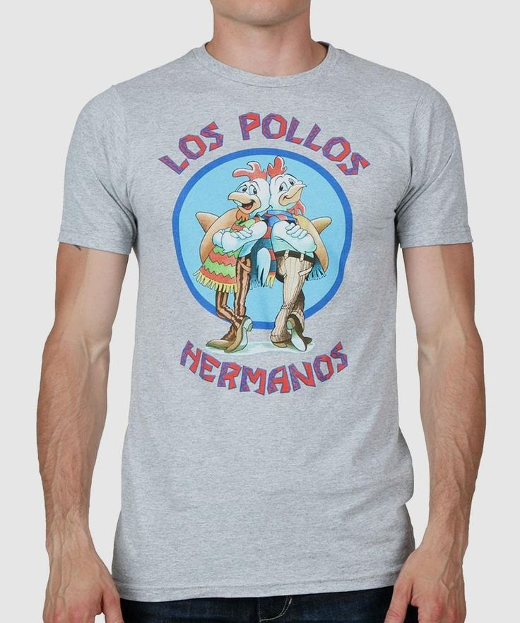 Breaking Bad Los Pollos Hermanos T-Shirt       >>>>> On SALE  http://amzn.to/2cgaGGU