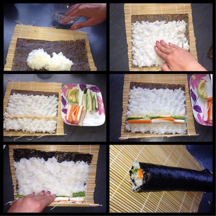 Sushi rollen (Standard)