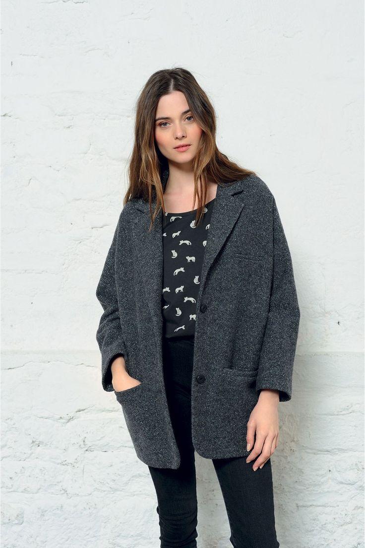 Manteau paula ombre - manteau - des petits hauts 2