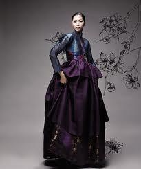 Modern Korean Hanbok.