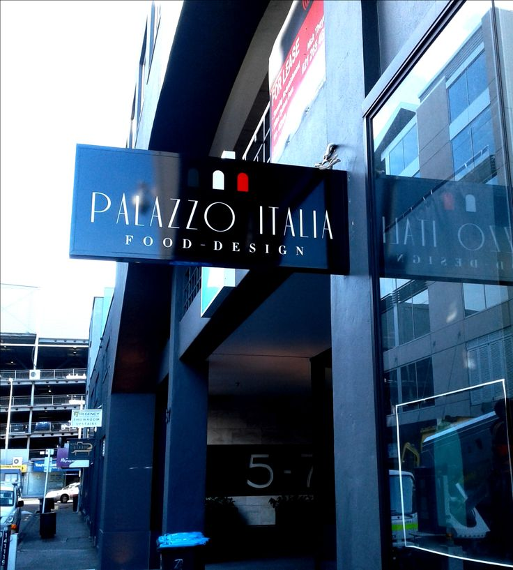 Lightbox for Palazzo Italia by Speedy Signs Newton