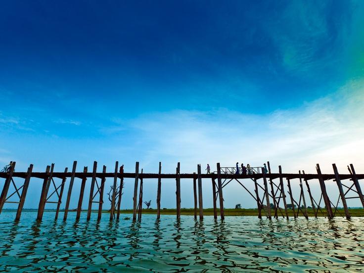 Gary Latham Photography - U-Bein Bridge-Mandelay-Mayanmar