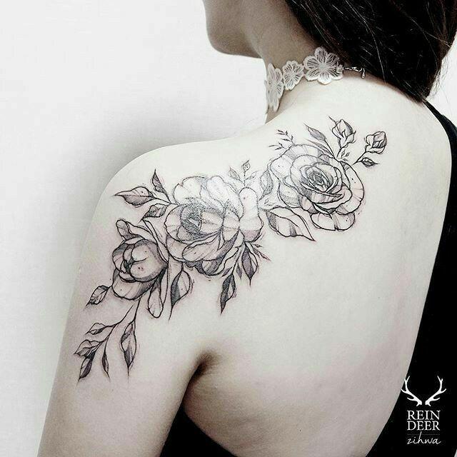 Tattoo For Womens Shoulder: 17 Best Ideas About Women Shoulder Tattoos On Pinterest