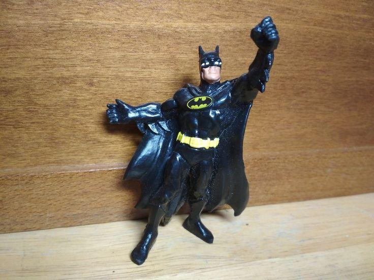Vintage Batman Figure 1989 Dc Comics by Bully W.Germany