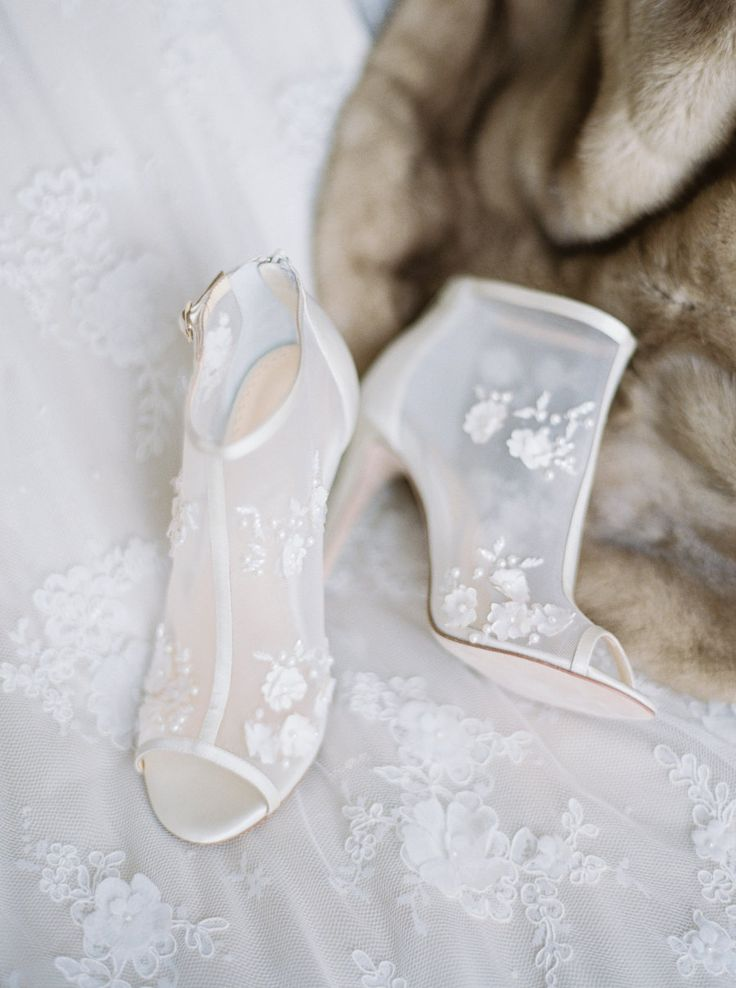 Vintage Platform Wedding Shoes