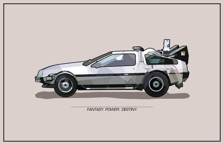 Fantasy Rides: Back to the Future Inspired DeLorean Illustration - Retro-Futurist Poster Art.: Movie Posters, Illustrations Posters, Retro Futuristic Posters, Convention Posters, Futuristic Fantasy, Posters Art, Back To The Future, Vehicles Posters, Fantasy Riding