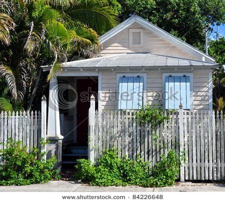 Shabby Chic Key West Style Cottage ShuttersCottage ExteriorExterior