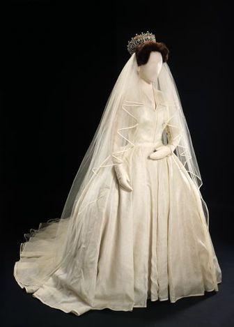 princess margaret   Princess Margaret's wedding dress