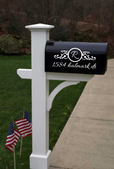 Mailbox decals Mailbox Decoration Mailbox Decor by Buckeese