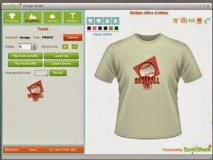 Software Aplikasi Desain Jaket, Kaos, Baju, Seragam