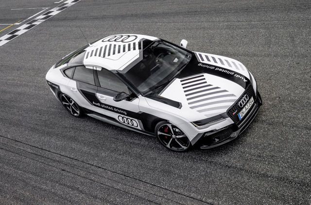 RS7 Piloted Driving. (via RS7 Piloted Driving «TWWHLSPLS)  More cars here.