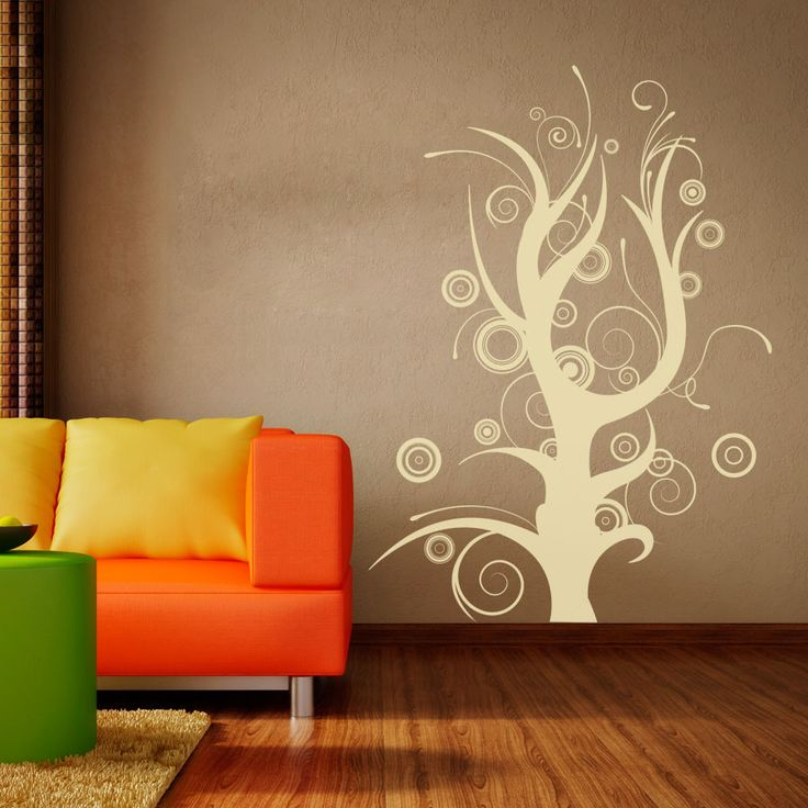 A modern and interesting tree for your home or office | Whimsical Tree Wall Decal