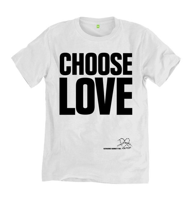 Choose Love T-shirt (White) | Help Refugees Clothing