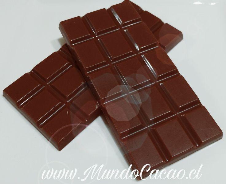 Barra de chocolate Belga 35% cacao.
