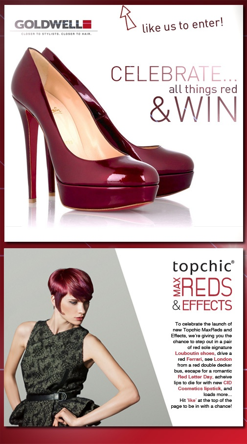 Christian Louboutin shoe giveaway on Facebook? Where do I sign? (campaign's ended by the way)!!
