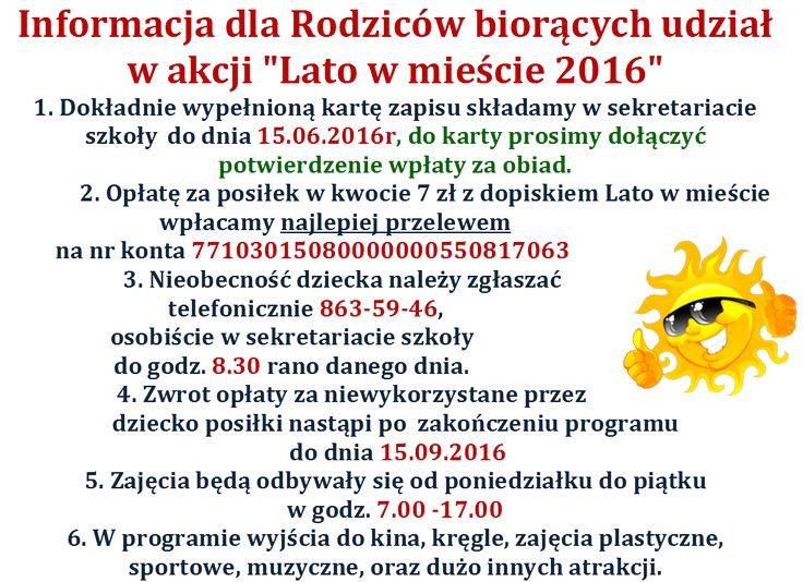 szkolnastrona - Szkoła Podstawowa nr 66 im. ks. Juliana Chrościckiego - Lato/Zima w mieście