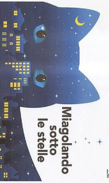 """MIAGOLANDO SOTTO LE STELLE. Cena veg di beneficienza per il Gattile """"I gatti del Nettuno"""" di Genova. Mercoledì 9 luglio ore 19.00, Genova, Biblioteca Berio. Info e prenotazioni: 335 8433552 - 010 5705416 o inviare mail a  igattidelnettuno@libero.it oppure seminario@beriocafe.it"""