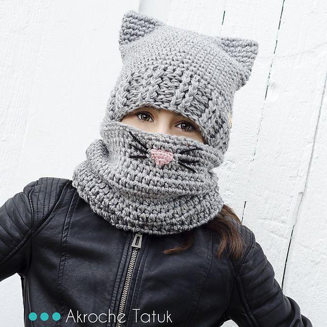 Ravelry: Cat Kit / Ensemble minou pattern by Akroche Tatuk