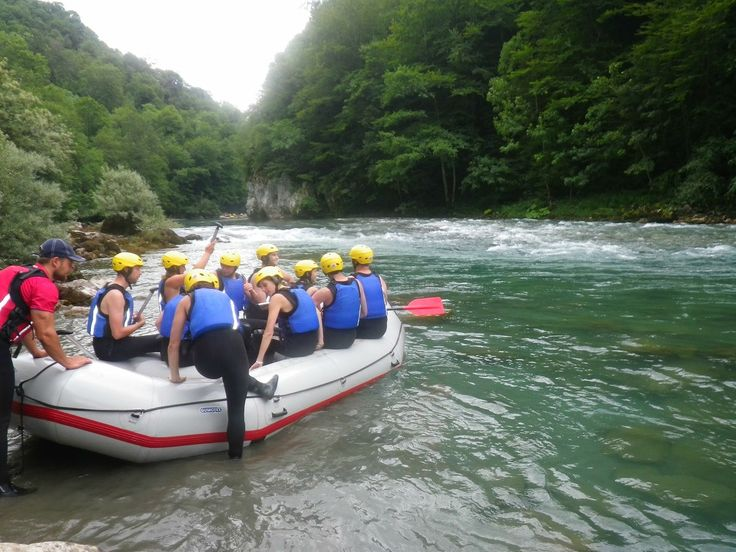 Experience rafting on the Tara River as part of all of our multi-activity packages.