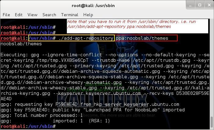 Debian allows users to add and use PPA repositories by an application named add-apt-repository however, Kali Linux didn't include this in their default package list. With Kali, because this is a special purpose application and certain modifications were made to make it work for what it does best (Penetration Test), there's a chance that by adding untested and unsupported PPA repositories and application you might end up breaking your installation
