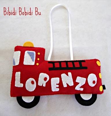 Bibidi Bobidi Bu: Camion dei pompieri in pannolenci!
