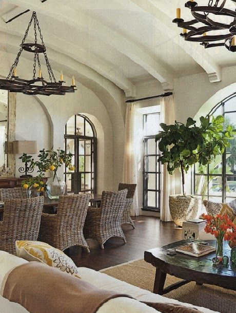 Old California and Spanish Revival Style                                                                                                                                                      More