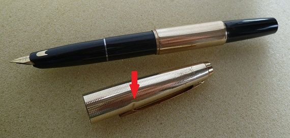 377.75 kr. Pilot Short R14K fountain pen by tiadesign on Etsy