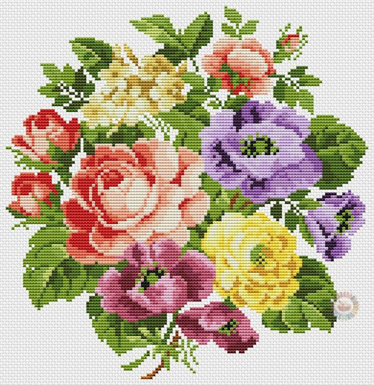 flores en punto de cruz (7)