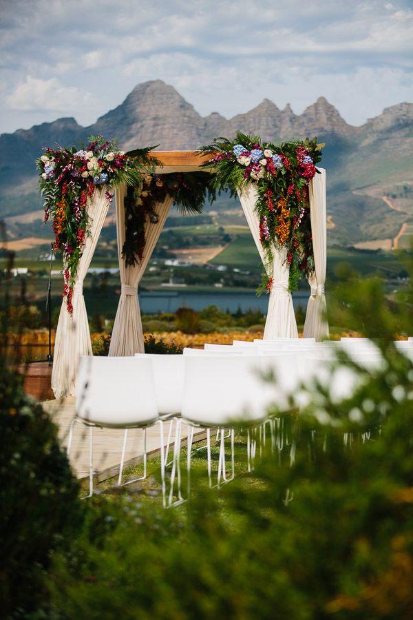 Wedding Ceremony| Chuppah| Weddings| Something Different| Floral Design| Wedding decor| Wedding design| Ceremony Cabana| Wedding aisles| Anne Mann weddings| Cavalli Estate| Fleur Le cordeur| Frank Nash photography| South African weddings