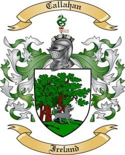 callahan family crest | We do have the Callahan coat of arms / family crest from Ireland ...