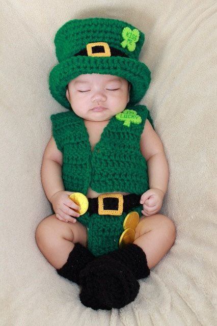 Baby St. Patrick's Day Leprechaun Outfit