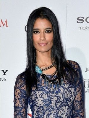 ACTRESS JESSICA CLARK WEARS PURPLE AURA JEWELS available at www.styleshopusa.com