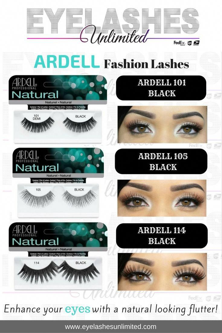 Natural Eyelashes Beauties Black by ardell #9