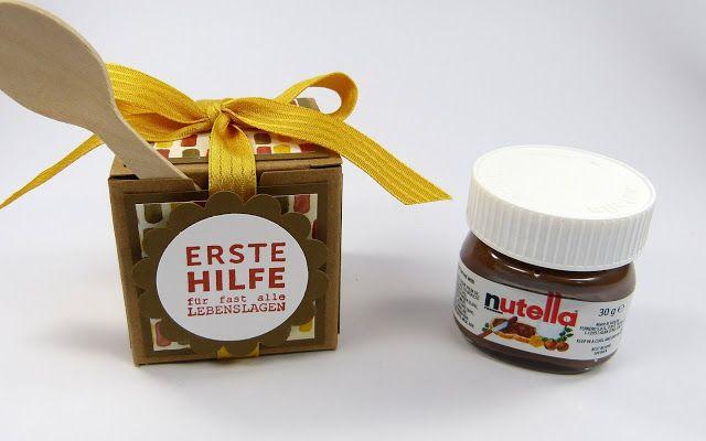 Stempelitis: Nutella hilft immer!