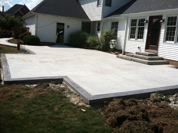 Backyard Concrete Designs Images Design Inspiration
