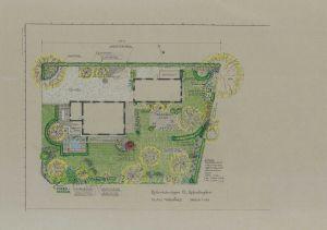 Trädgården på Maria Schads tid