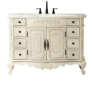 Home Decorators Collection Bathroom Winslow 48 In Vanity In Antique