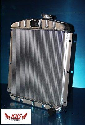 3 ROWS KKS ALUMINUM RADIATOR FOR 1947-54 CHEVY PICKUP TRUCK CK 3800 3.5L/3.8L L6