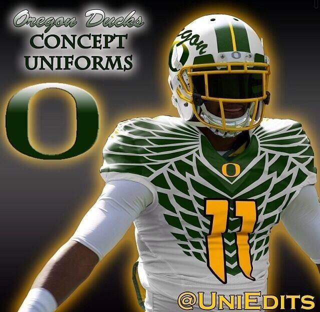 Oregon Ducks Concept Uniforms