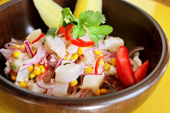 Ceviche Peruano Fácil e Rápido | Figos e Funghis