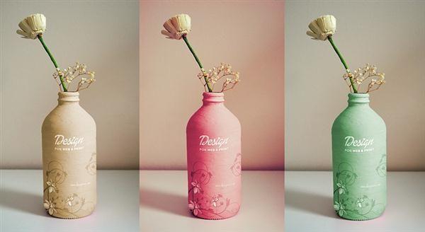 Freebie Fridays #4 – Handmade Bottle Mockup (Custom)