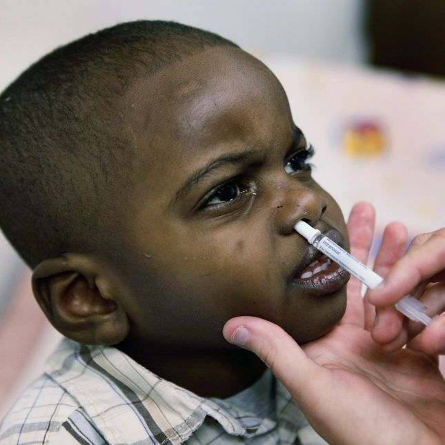 Nasal flu vaccine may not be recommended for use in US for years