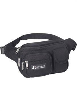 Everest Multiple Pocket Fanny Pack (Set of 2) | Plus Size Backpack | OneStopPlus