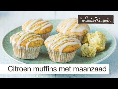 Citroen muffins met maanzaad - Leuke recepten