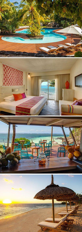 In het noordoosten van Mauritius vind je het viersterren Solana Beach. Dit kleurrijke hotel beschikt over tal van faciliteiten voor koppels en pasgetrouwde stellen, maar ook families zijn meer dan welkom. Het heeft een ideale ligging direct aan het strand en nabij het populaire Belle Mare strand.