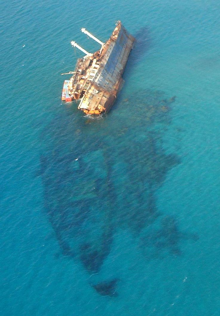 Wreck of the SS America / SS Australis /SS American Star