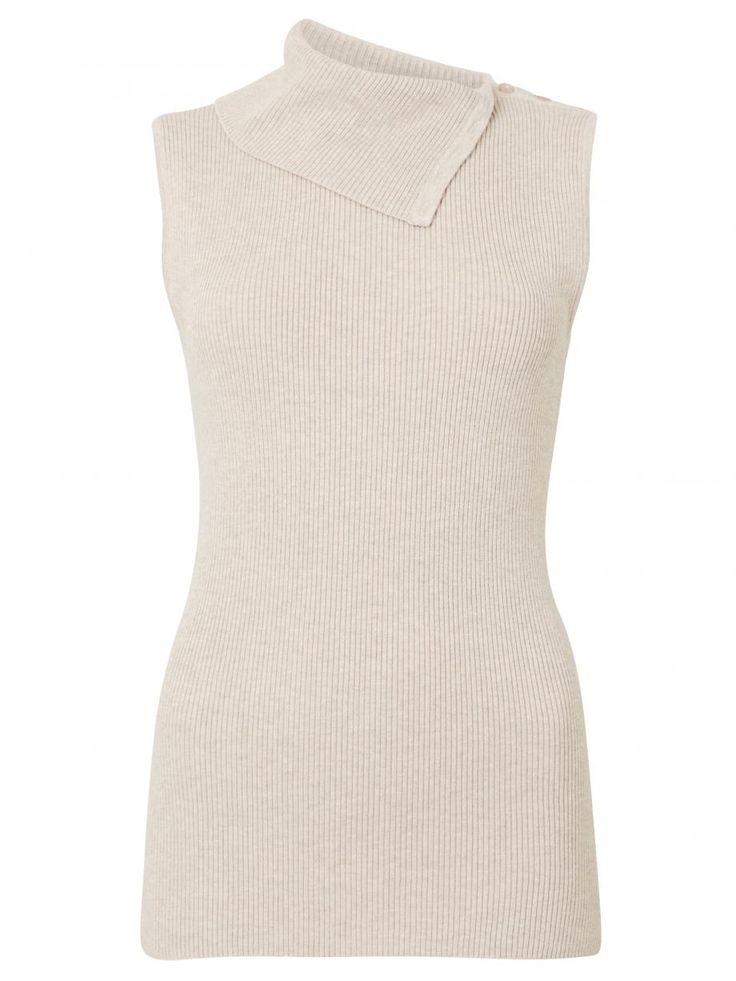 Kaylee Sleeveless Rib Pullover
